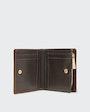 Hailey plånbok Mörkbrun Morris