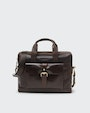 Adam computer bag Dark brown Saddler