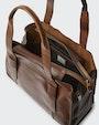Colette tote bag Brown Saddler