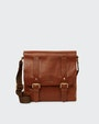 Carter messenger bag Brown Saddler