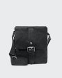 George messenger bag Black Saddler