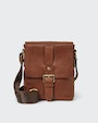 George messenger bag Brown Saddler