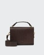 Holly shoulder bag Dark brown Saddler