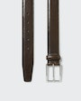 Arthur belt Dark brown Saddler