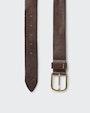 Antonio belt Dark brown Morris