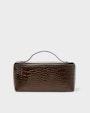 Carmen toiletry bag Dark brown Saddler
