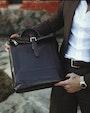 Palermo backpack Dark brown Saddler
