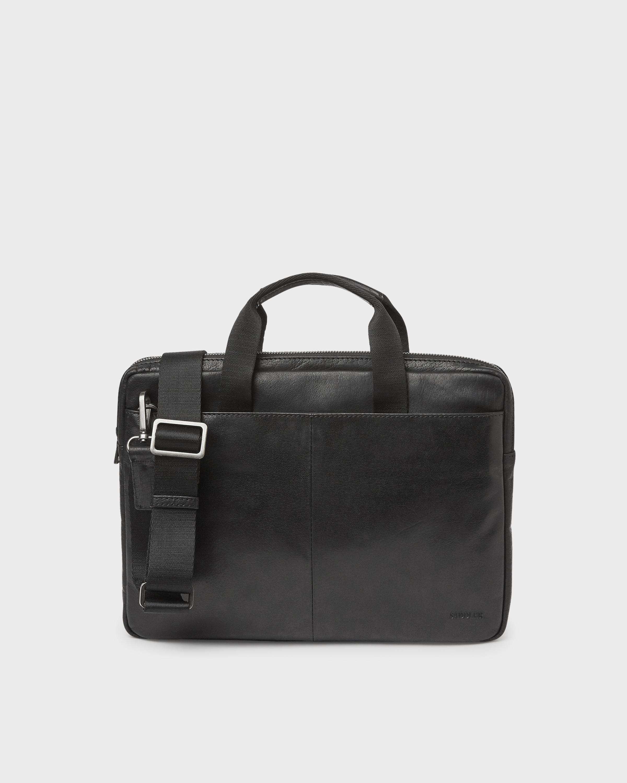 J.Lindeberg Connor Leather Backpack Black hos