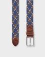 Visby belt Blue Saddler