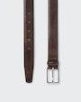 Flen belt Dark brown Saddler