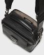 Neptune shoulder bag  Black Saddler