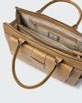 Io computer bag Light brown Saddler