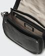 Charon shoulder bag Black Saddler