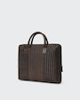 Italo computer bag Dark brown Oscar Jacobson