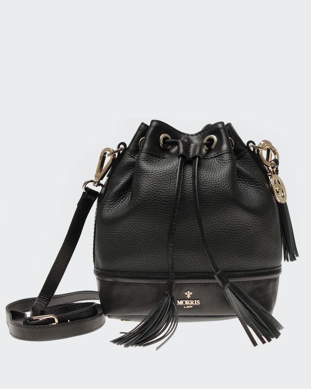 Loretta shoulder bag Black Morris