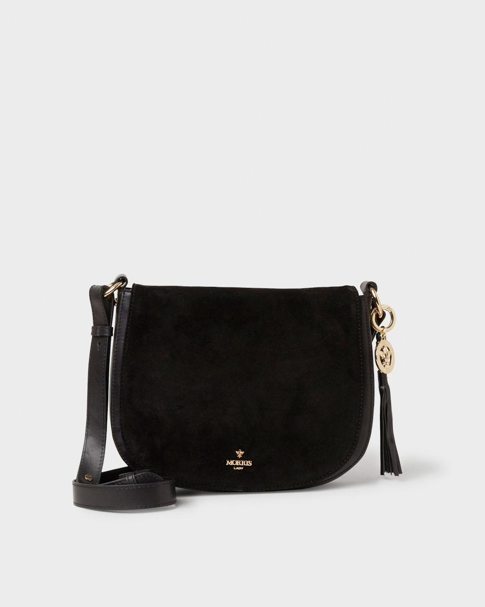 Katharine shoulder bag Black Morris