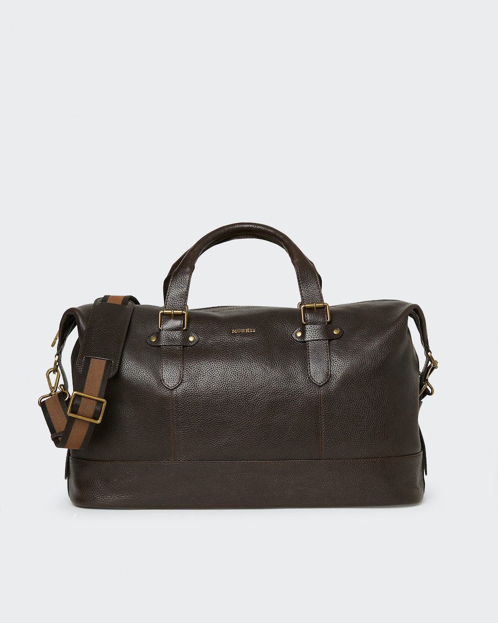 Christopher weekend bag Dark brown Morris