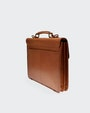 Briefcase computer bag Light brown Morris