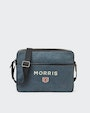 Donovan messenger bag Blue Morris
