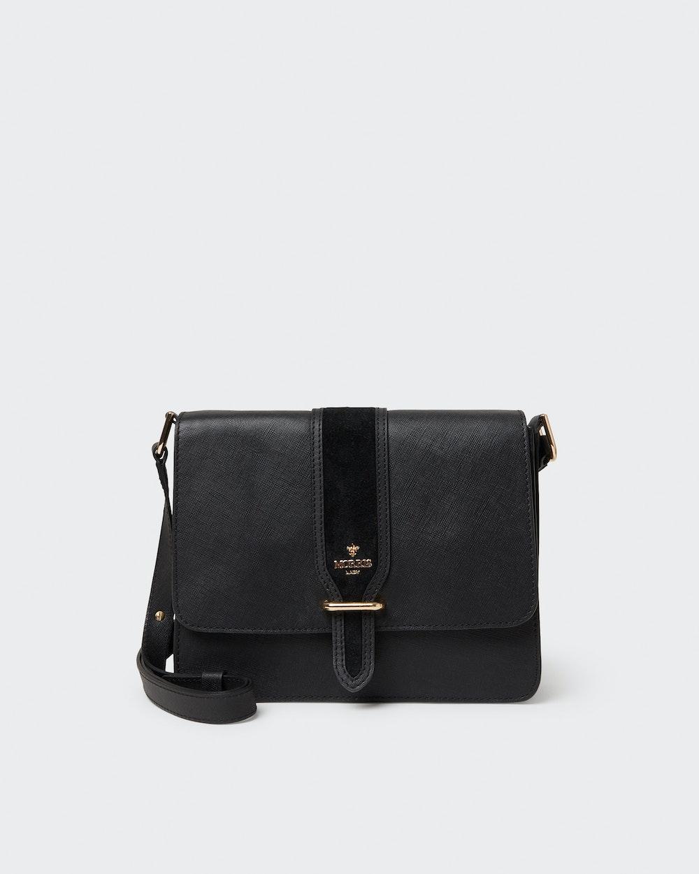 Rosane shoulder bag Black Morris