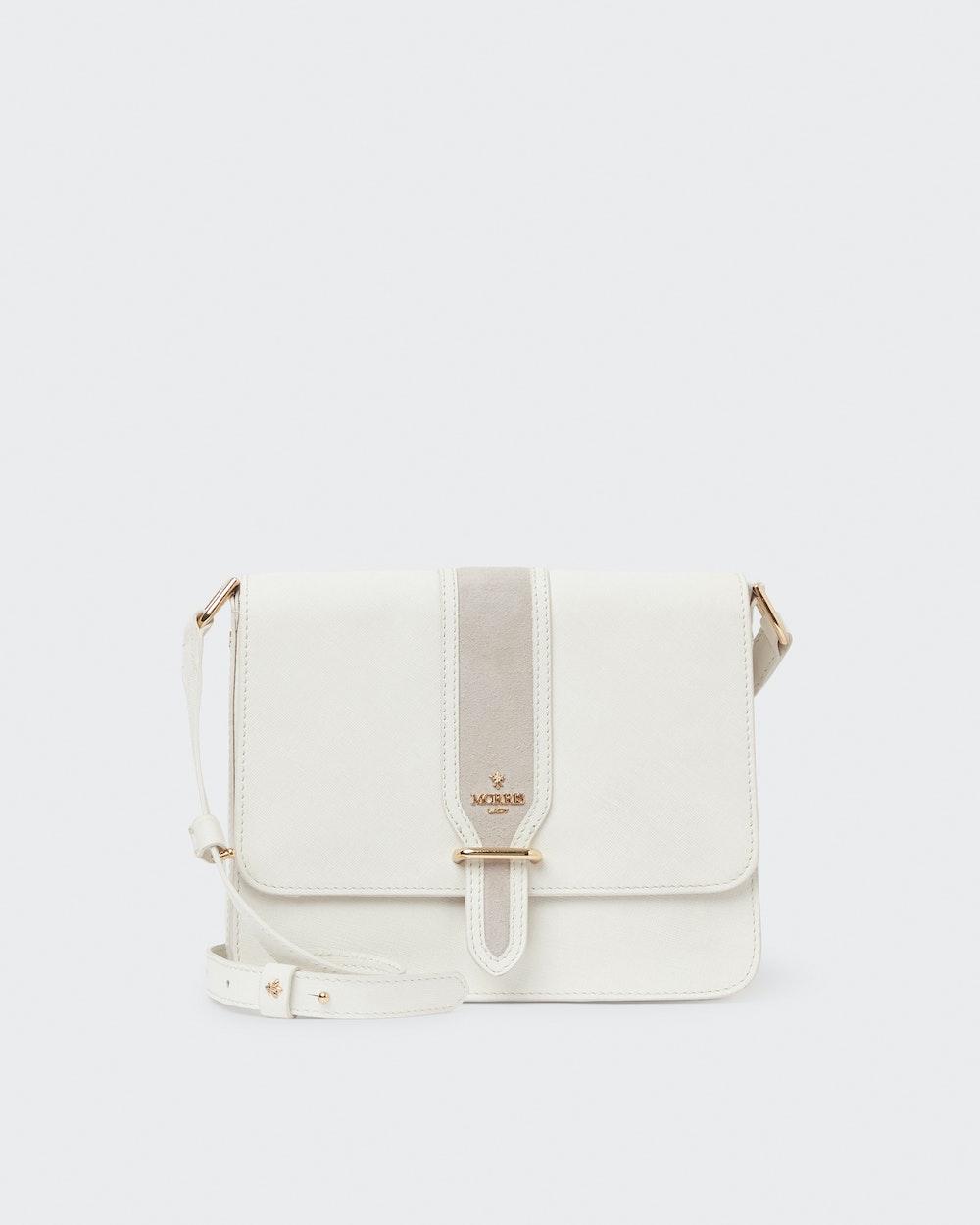 Rosane shoulder bag White Morris