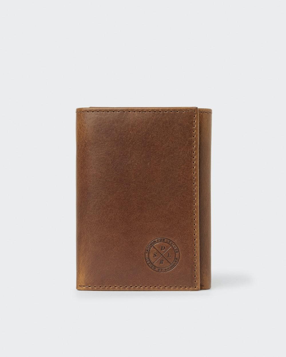 Malmsten wallet Brown Saddler